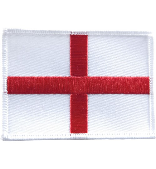 Embroidered England Flag Badge