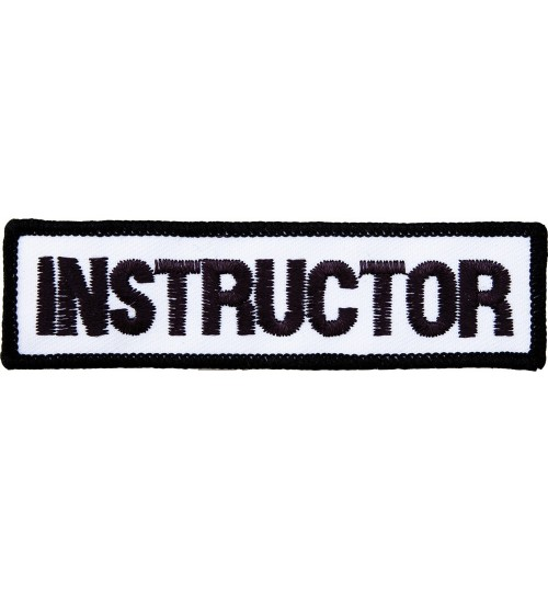 Embroidered Instructor Badge