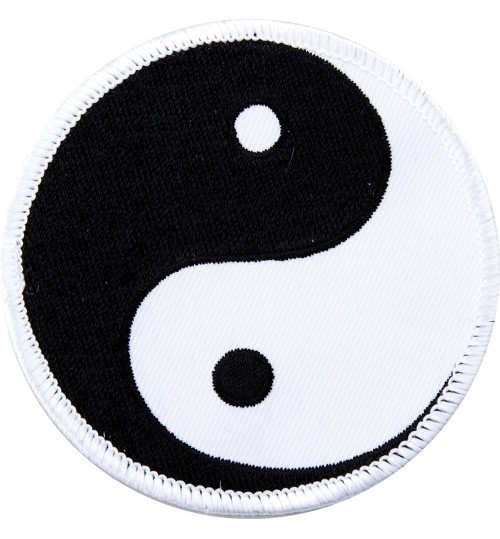Embroidered Yin Yang Badge