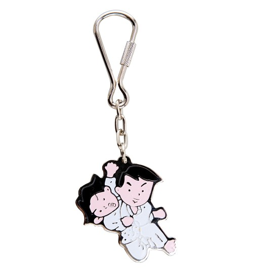 Judo Kids Key Ring