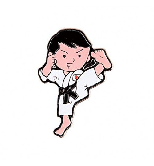 Karate Kid Pin Badge