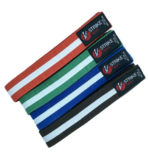 Strike Sport Colour / White Stripe Belt