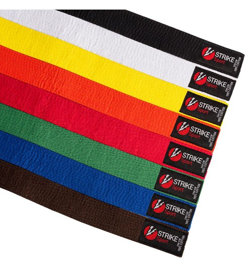Strike Sport Plain Coloured Belt