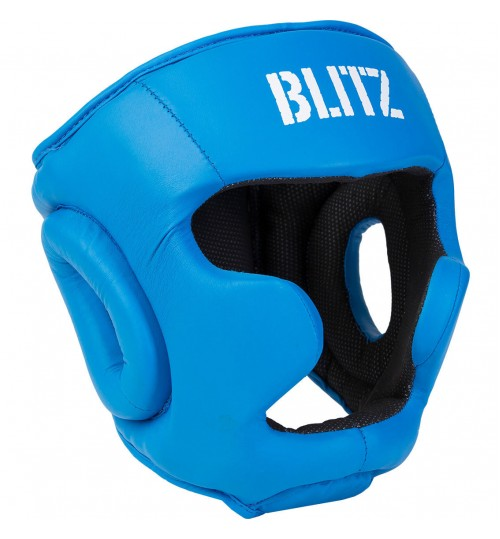 Blitz Club Full Face Head Guard - Blue