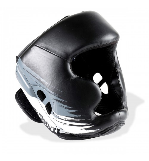 PunchTown Kranion KR Head Guard Black/White