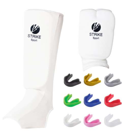 Strike Sport Kids Sparring Kit Bundle - White