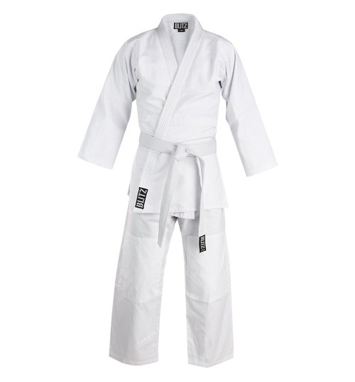 Blitz Kids Cotton Student Judo Suit - White