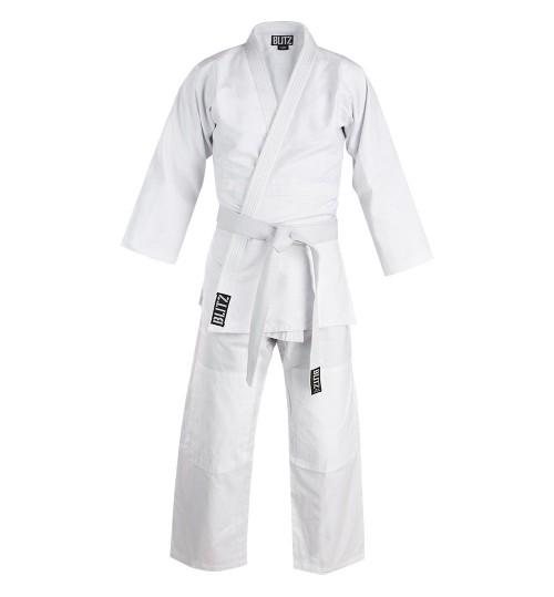 Blitz Adult Cotton Student Judo Suit - White