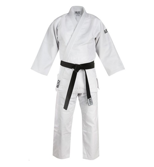 Blitz Adult Master Heavyweight Judo Suit - White - 750g