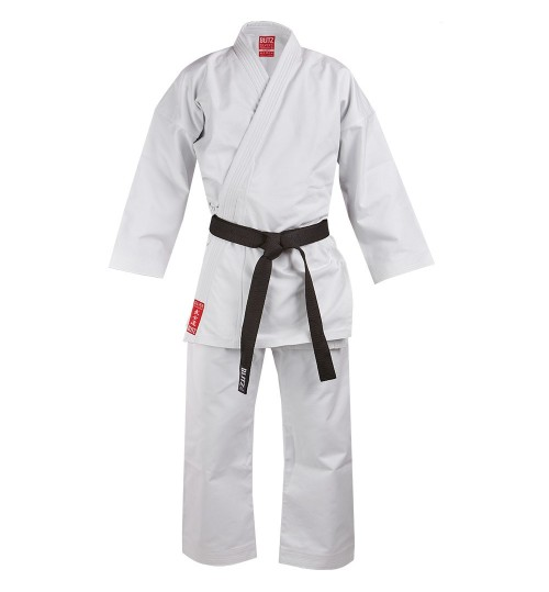 Blitz Kids Silver Tournament Heavy Weight Karate Suit