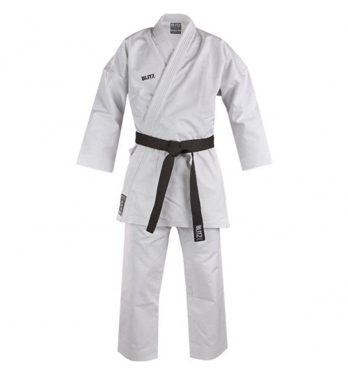 Blitz Kids White Diamond Heavy Weight Karate Suit