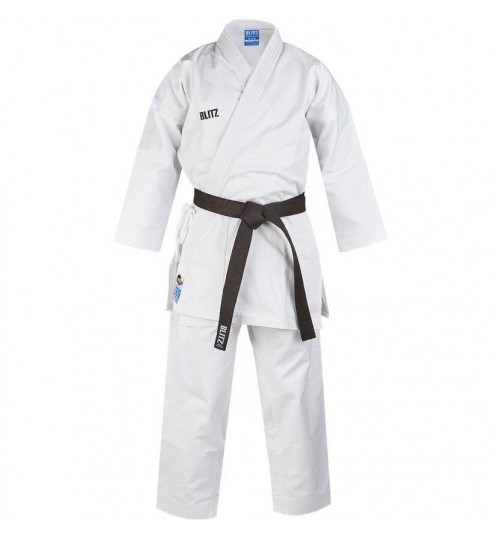 Blitz Adult Odachi WKF Approved 14oz Karate Suit