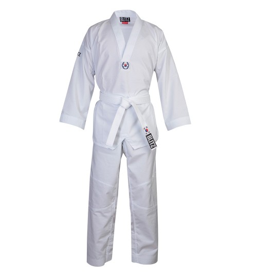 Blitz Kids Fighter Lite Taekwondo Suit - White