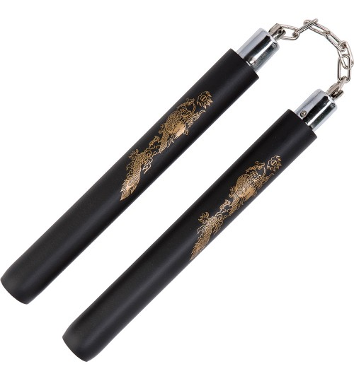 Black Foam Safety Ball Bearing Nunchaku