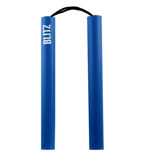 Blitz Junior Foam Cord Nunchaku - Blue