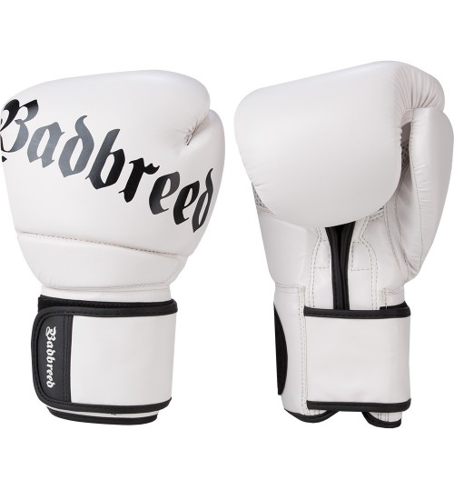 Badbreed Legion Boxing Gloves - White