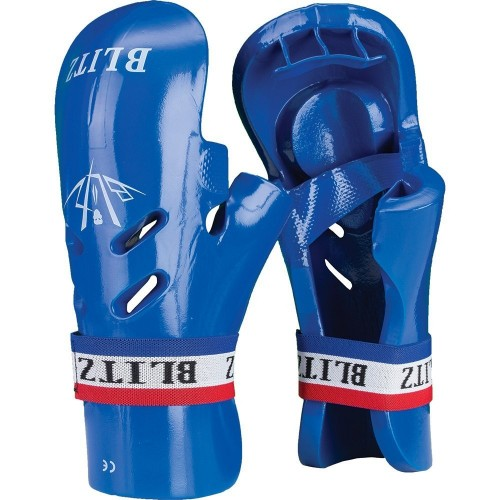 Blitz Dipped Foam Tag Gloves - Blue