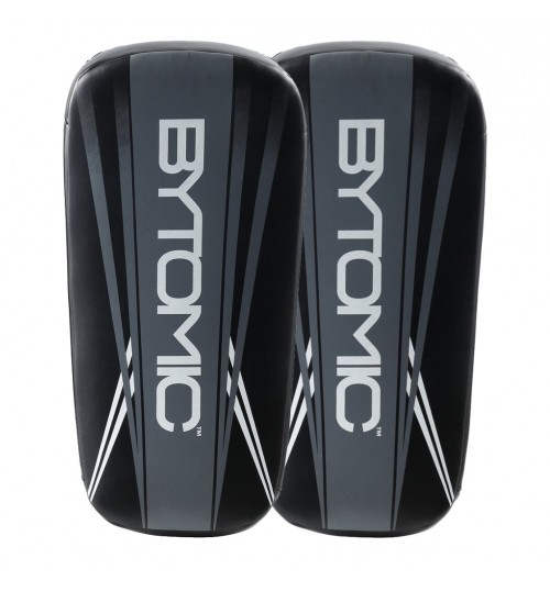 Bytomic Axis Curved Thai Pads - Black/Grey