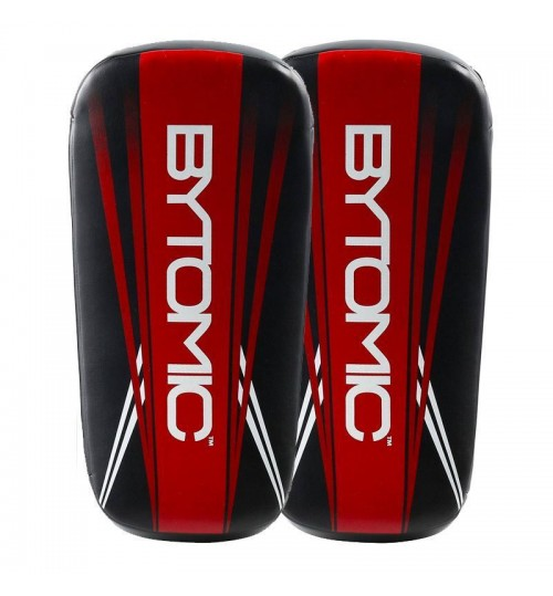 Bytomic Axis Curved Thai Pads - Black/Red